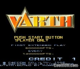 Varth Operation Thunderstorm Rom Download For Cps1 Coolrom Com Au
