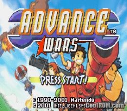 Advance Wars (E)(Arrogance) ROM < GBA ROMs | Emuparadise