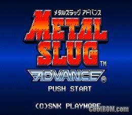 Metal Slug 2 Gba Zip