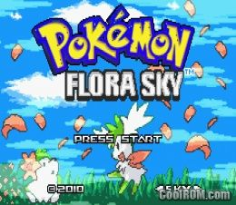 Pokemon flora sky hack rom download for gameboy advance gba