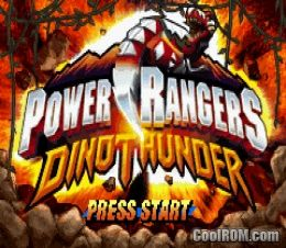power rangers dino thunder rom for gameboy advance gba coolrom co uk