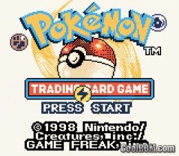 Pokemon trading card game gameboy strategy