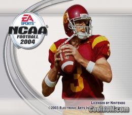 NCAA Football 2004 ROM (ISO) Download for Nintendo ...