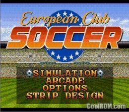 European club soccer sega genesis rom download