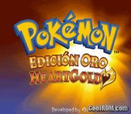 Pokemon - Edicion Oro HeartGold (Spain) ROM Download for ...