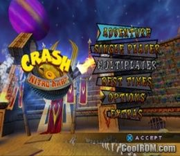 Crash Nitro Kart ROM (ISO) Download for Sony Playstation 2 ...