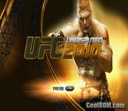 UFC 2010 Undisputed ROM (ISO) Download for Sony ... Ufc Undisputed 3 Ps3 Rom