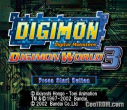 Digimon world 3 (usa) psx / sony playstation iso download | romulation.