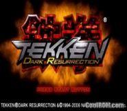 Tekken Dark Resurrection China Rom Iso Download For Sony