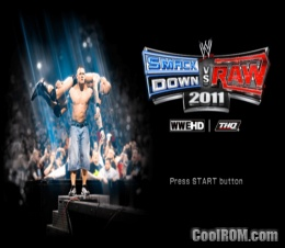 WWE SmackDown vs. RAW 2011 ROM (ISO) Download for Sony Playstation Portable  / PSP - CoolROM.com Mobile